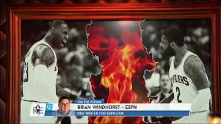 Download ESPN NBA Senior Reporter Brian Windhorst on Kyrie Irving Drama - 7/24/17 Video