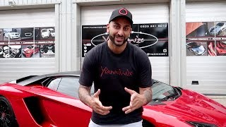 Download My Lamborghini Aventador S now has WOW Factor! FULL Chrome Red Wrap Video Video