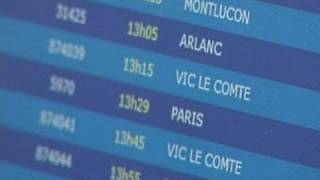 Download SNCF : les nouveaux horaires de train (Clermont) Video