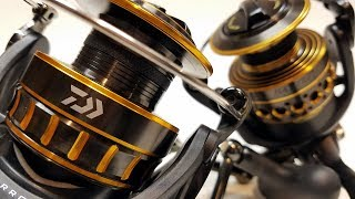 Download Daiwa BG vs Penn Battle II: What's the Difference? | Comparison and Review Video