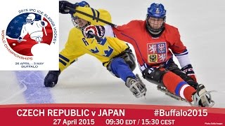 Download Czech Republic v Japan | Prelim | 2015 IPC Ice Sledge Hockey World Championships A-Pool, Buffalo Video