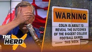 Download Colin's college football spoiler: USC vs Texas | CFB | THE HERD Video