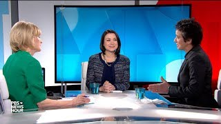 Download Tamara Keith and Amy Walter on the president's campaign focus on 'Trump country' Video