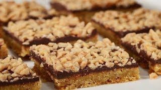Download Toffee Bars Recipe Demonstration - Joyofbaking Video