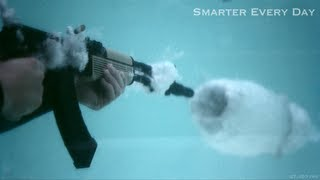 Download AK-47 Underwater at 27,450 frames per second (Part 2) - Smarter Every Day 97 Video