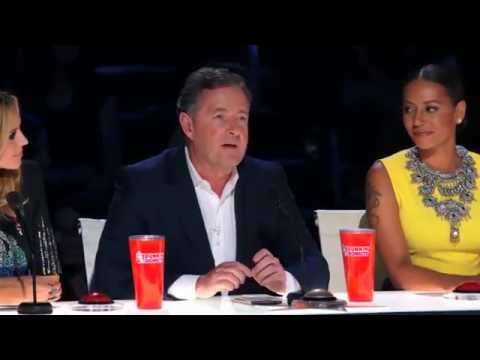 America's Got Talent 2015 - Siro A Piers Morgan Hits Golden Buzzer for a Creative Dance Group