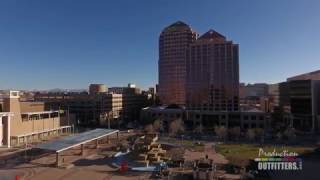 Download Aerial Drone Samples - Albuquerque Skyline 5 Clips - Production Outfitters Video