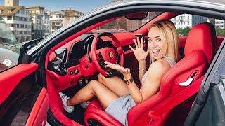 Download МАША ГОНЯЕТ ПЕРВЫЙ РАЗ НА Ferrari / РЕАКЦИЯ И ТЕСТ-ДРАЙВ Video