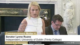 Download Lynn Ruane Questions Health Minister on Drug Criminalisation Video