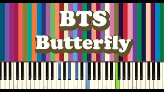Download BTS(방탄소년단) - Butterfly piano cover Video