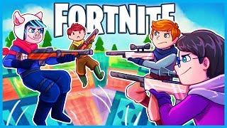 Download *NEW* NO SCOPE BOUNCER MINI GAME in Fortnite: Battle Royale! (Fortnite Playground Mode Custom Games) Video