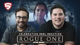 Download Rogue One: A Star Wars Story - Celebration Reel Reaction Video
