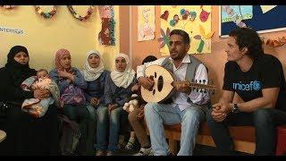 Download Orlando Bloom Visits Syrian Refugee Children - Goodwill Ambassador   UNICEF Video