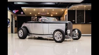 Download 1932 Ford Dearborn Deuce Street Rod For Sale Video