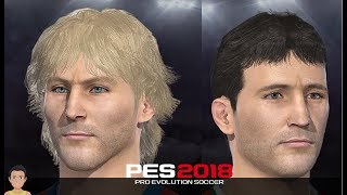 Download Hristo Stoichkov & Pavel Nedved **2 FACE SPECIAL** PES 2018 (+Stats) Video