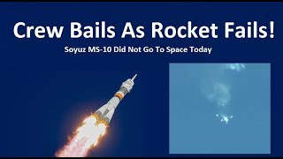 Download Astronauts Escape Failing Rocket - Soyuz Did Not Go To Space Today Video