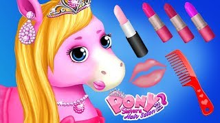 Download Fun Pony Care Girls Games - Horse Animal Hair Salon Make Up Makeover Beauty App For Kids Video