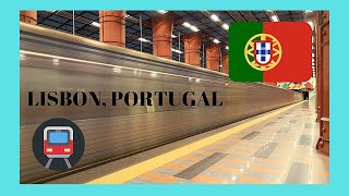 Download LIBSON, the modern SUBWAY (METRO or underground), PORTUGAL Video