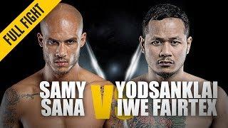Download Samy Sana vs. Yodsanklai | ONE: Full Fight | Super Series Shocker | May 2019 Video