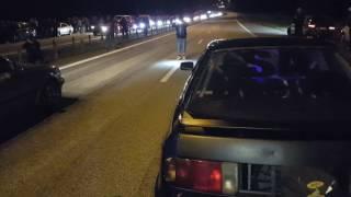 Download 1036hp Audi Quattro vs BMW 325ix AWD turbo outside view Video