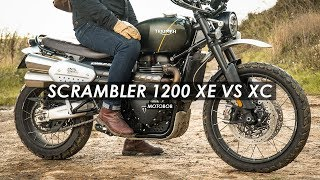Download 2019 Triumph Scrambler 1200 XE vs XC: Which Is Best? Video
