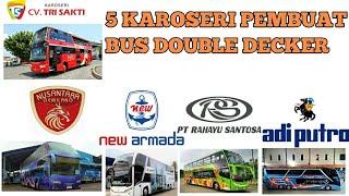 Download INI DIA!!! 5 KAROSERI PEMBUAT BUS DOUBLE DECKER Video