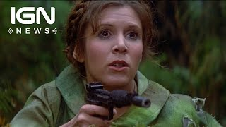 Download Carrie Fisher Reportedly in Critical Condition After Heart Attack - IGN News Video