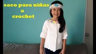 Download sueter a crochet para niñas de 6 a 8 años - parte #1 Video