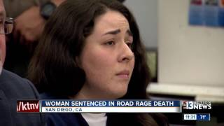 Download Woman breaks down in court when sentenced for deadly road rage incident Video