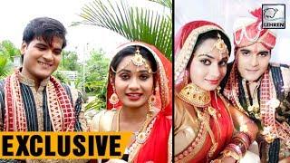 Download शादी के बाद कल्लू और रीतू सिंह का पहला इंटरव्यू   Arvind Akela Kallu   Lehren Bhojpuri Video