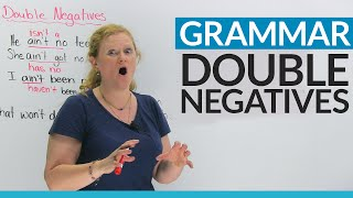 Download English Grammar: Fix your double negatives! Video