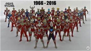 Download All Ultraman Transformations (1966-2016) Video