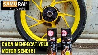 Download Mengecat Velg Motor Sendiri Dengan Pilox Samurai Paint | Repaint Velg Video