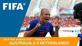 Download AUSTRALIA v NETHERLANDS (2:3) - 2014 FIFA World Cup™ Video