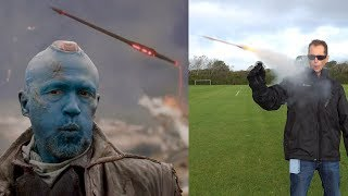 Download REAL YONDU Guardians of the Galaxy YAKA Arrows - BrainfooTV Video