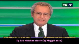 Download Berlusconi accusa La7 di ″stare con la sinistra″. Mentana risponde a dovere (24Mag2011) Video