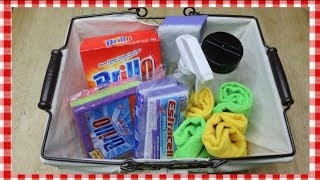 Download Holiday Homekeeping Basket ~ Quick Holiday Clean Up with Brillo ~ Noreen's Kitchen Video