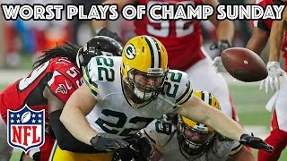 Download Worst Plays of AFC & NFC Championship Games | NFL Highlights Video