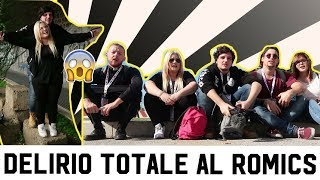 Download DELIRIO TOTALE AL ROMICS CON LA FAMILY Video