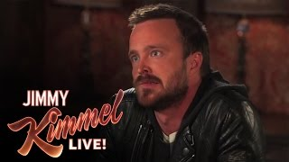 Download 3 Ridiculous Questions with Jimmy Kimmel and Aaron Paul Video
