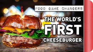 Download Reviewing the Cheeseburger from the BIRTHPLACE of the Cheeseburger | Game Changers #AD Video