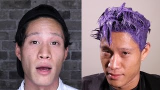 Download Men Dye Their Hair For The First Time Video