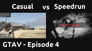 Download Casual VS Speedrun in GTAV #4 - Tactical Deaths Video