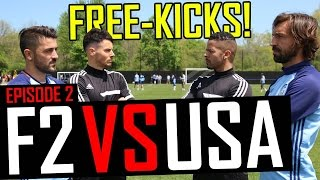 Download Pirlo & Villa Free-Kick Masterclass | F2 vs USA | Episode 2 Video