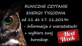 Download Runiczne czytanie energii tygodnia od11-17 listopada. Informacja o warsztatach . Video