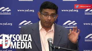 Download SO SATISFYING: D'Souza slams leftists—including professors—at Yale Video