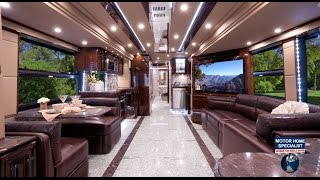 Download 2.2 Million Outlaw Luxury Prevost RV at MHSRV ″The Residency″ Video