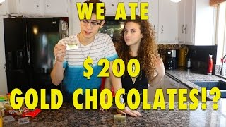 Download WE ATE $200 CHOCOLATES!!! (can you eat that challenge) Video