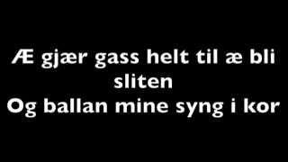 Download Bøbben&Yogi- Gir Gass- Lyrics Video Video