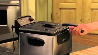Download Presto® Dual Basket ProFry - immersion element deep fryer Video